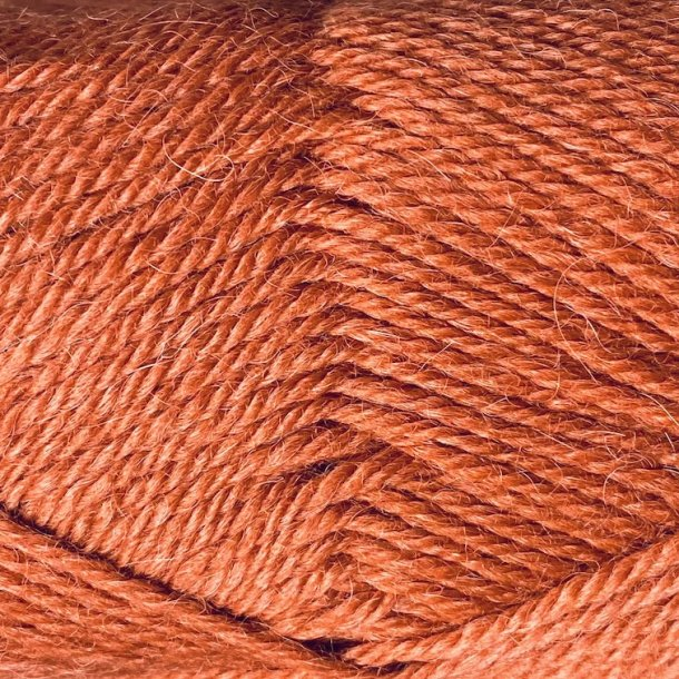 ALPAKKA ULL - 4035 Mørk Terrakotta