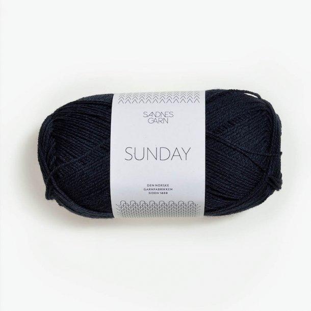 SUNDAY 6581 Mørk gråblå