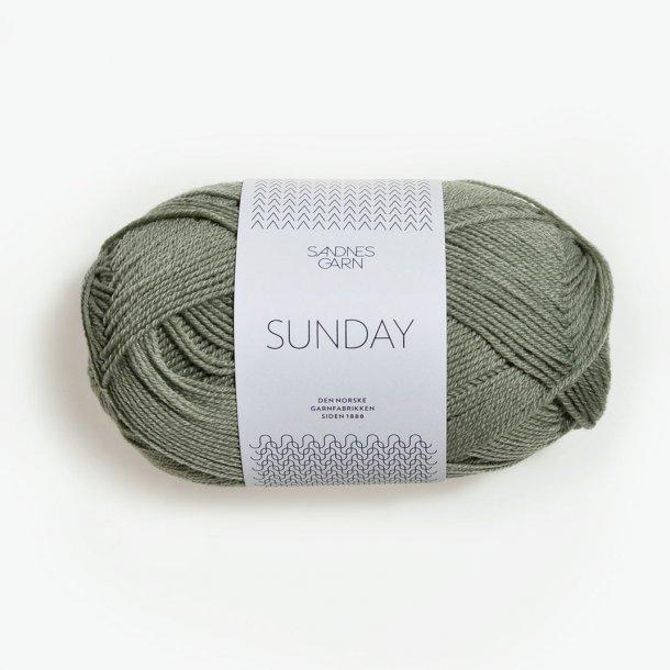 SUNDAY 8521 Støvet Lys Grønn