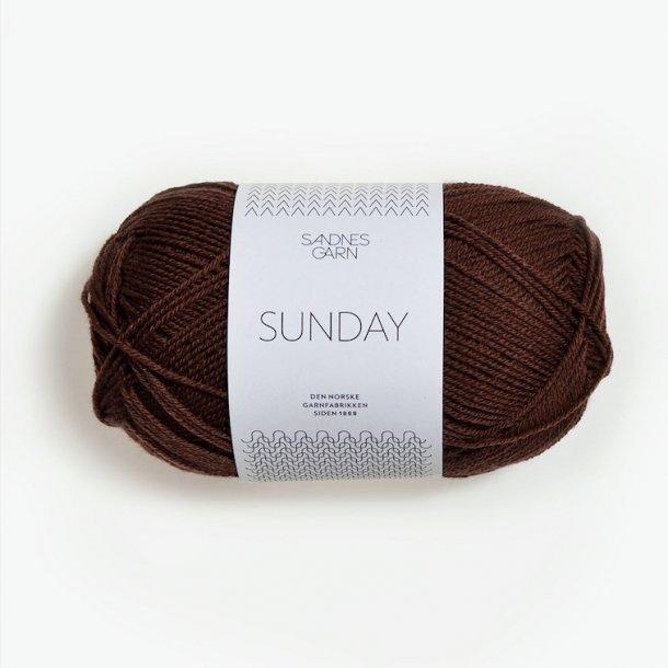 SUNDAY 3072 Mørk brun